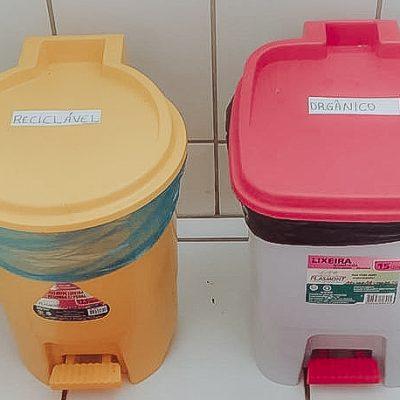 TURMA AL07 - separação de lixo em casa