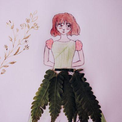 TURMA AL30 - reutilização de folhas em desenho